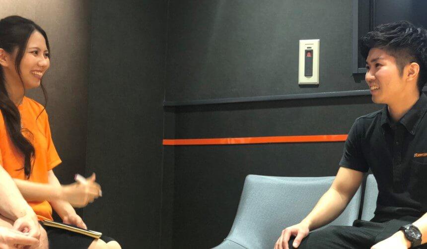 エクササイズコーチ インタビュー