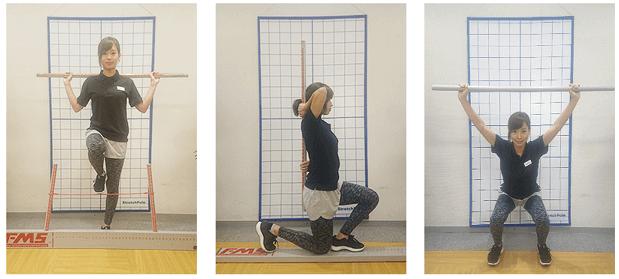 body base トレーニング風景