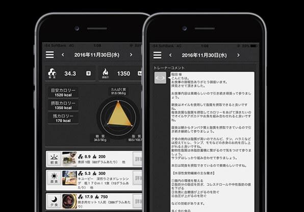 ライザップ アプリ