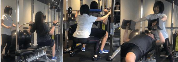 ライザップウーマン トレーニング