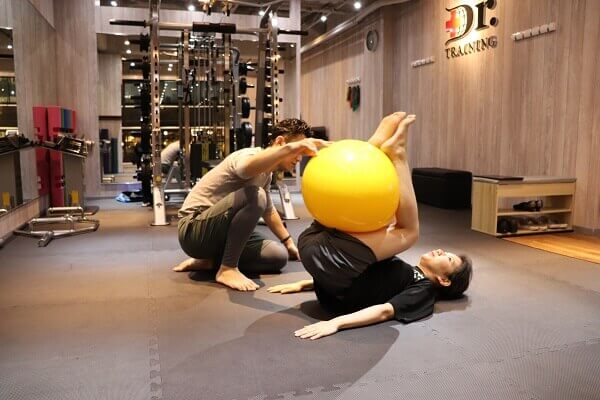 drトレーニング ストレッチ6