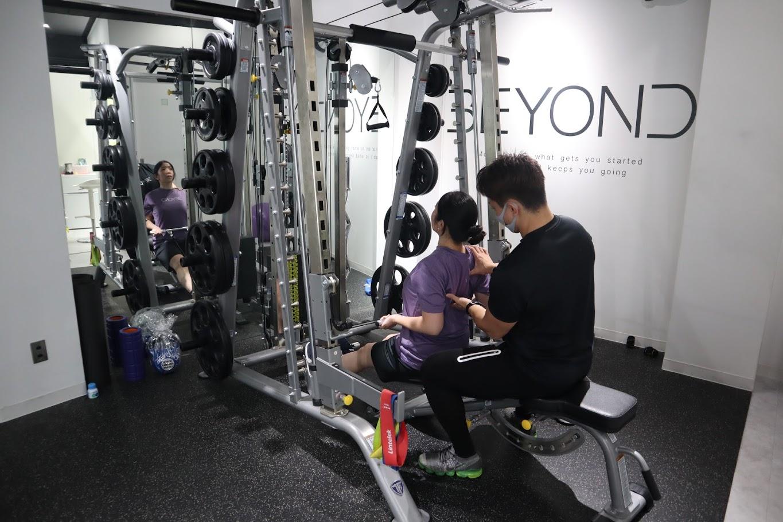 BEYOND トレーニング4